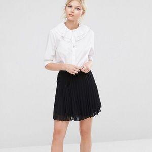 ASOS PETITE Pleated Mini Skirt